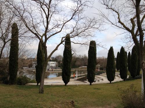 Montpellier Parc du conseil général