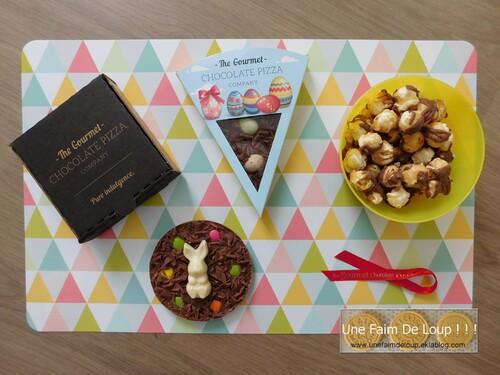 Nouveau colis partenariat : The Gourmet Chocolate Pizza Company