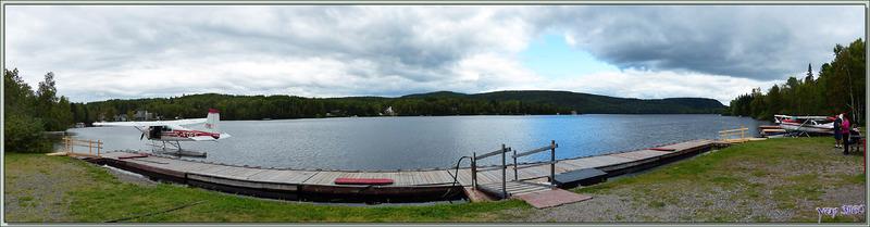 Lac à Beauce et ses hydravions - Mauricie - Québec - Canada