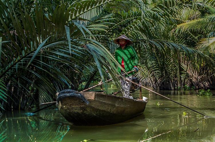 2- Petit bras dans le Delta du Mekong