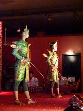 Le spectacle d'Apsara