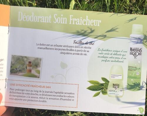 Test des déodorants Le Petit Marseillais aux feuille de thé et huile essentielle de sauge (Campagne le Petit Ambassadeur du Petit Marseillais)
