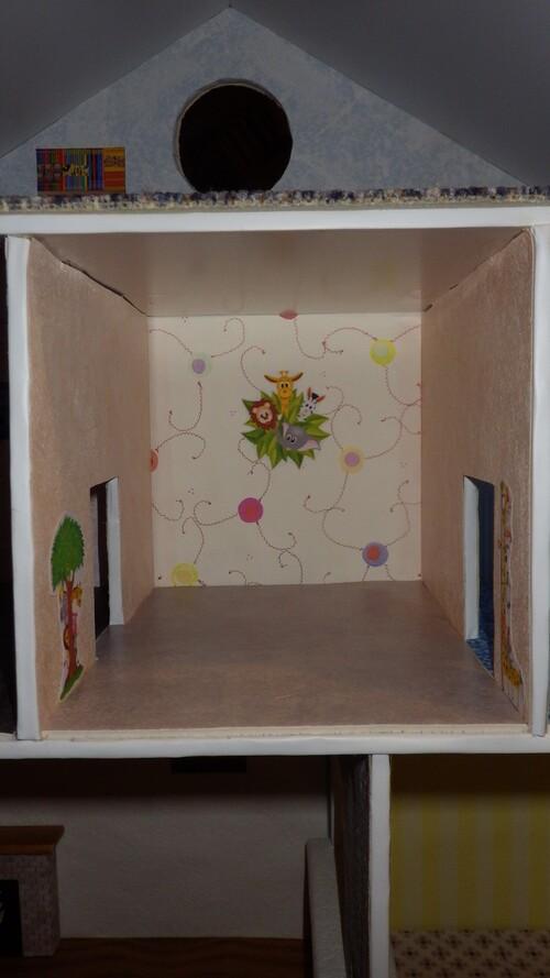 Une maison pour playmobils