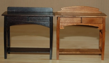table de toilette duo