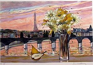 Michel Henry Tour Eiffel au bouquet