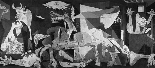 Guernica à l'exposition universelle 1937