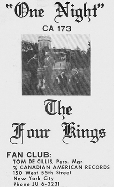 The Four Kings (6) aka The Uniques (4)
