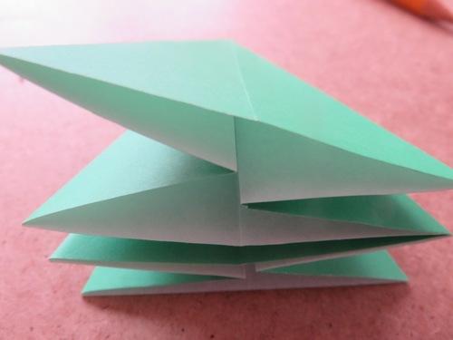 sapin en origami
