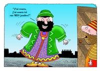 Le pharisien grincheux
