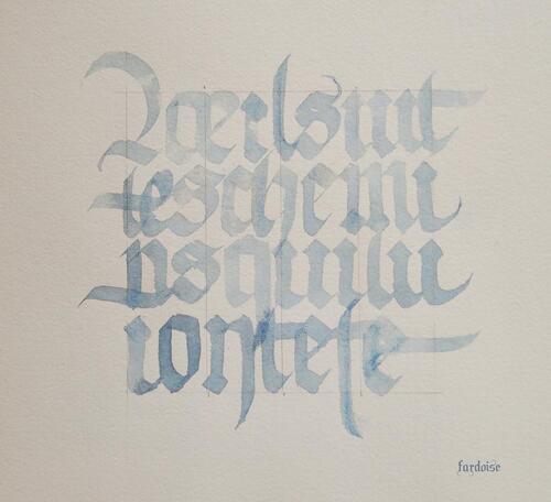 Avec la gothique textura quadrata - 3