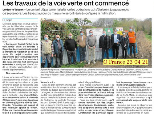 2021 Voie Verte Briouze - Bagnoles