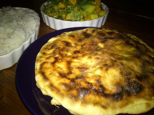 Naan cheese...parce que je connais pas grand monde qui aime pas ça (en fait personne^^)