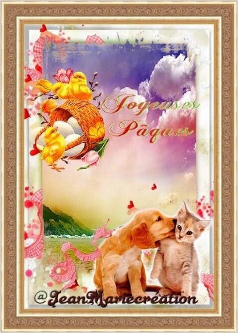 Joyeuses pâques( copie interdite)(Copyright numéro de dépôt c97634 )