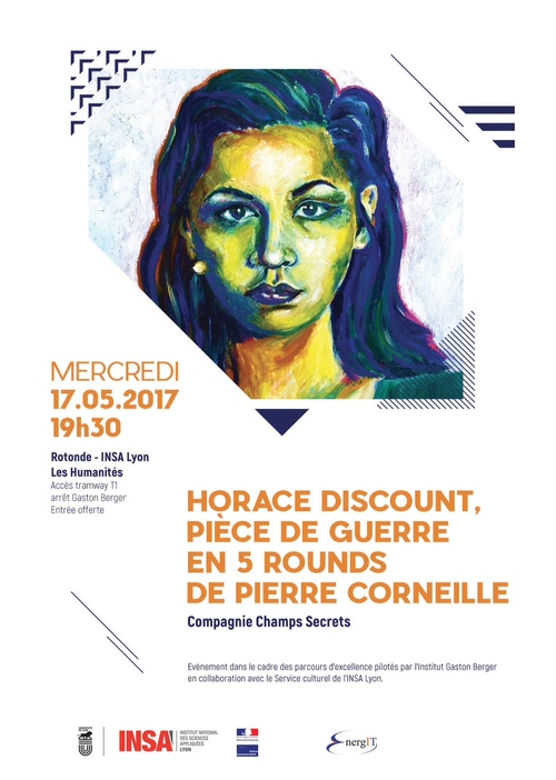 Horace Discount, Piece de Guerre en 5 Rounds de Pierre Corneille