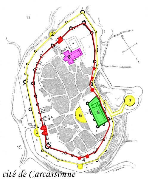 Circuit Touristique : CARCASSONNE