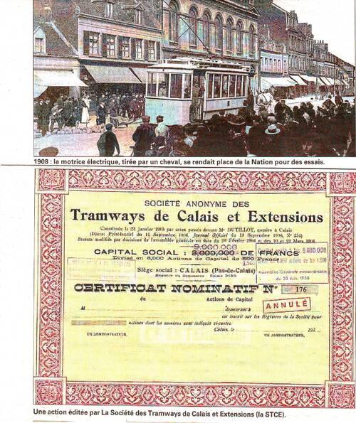 Calais, balade en tramway