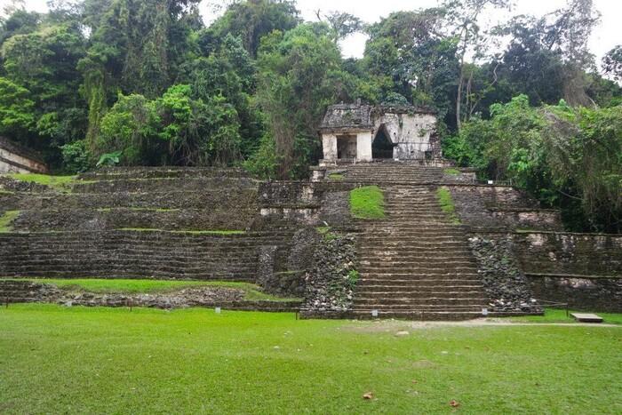 Temple mexicain.