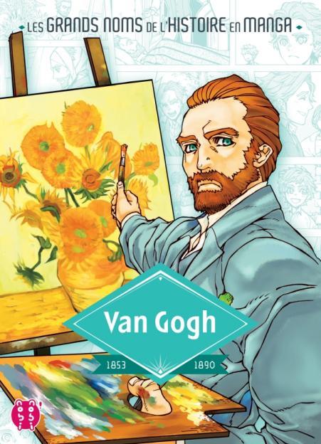 Les grands noms de l'histoire en manga - Van Gogh