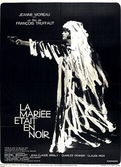 LA MARIEE ETAIT EN NOIR - AFFICHE FRANCE