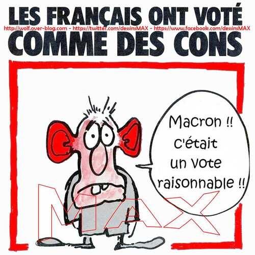 La France qui se réveille car elle a compris.
