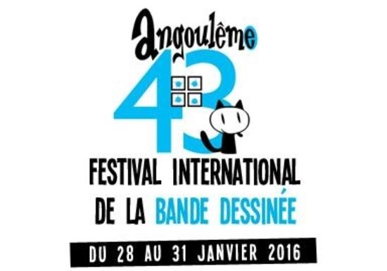 Cliquez ici  pour le site du Festival BD d'Angoulême 2016