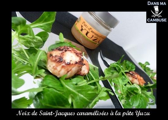 noix saint-jacques yuzu