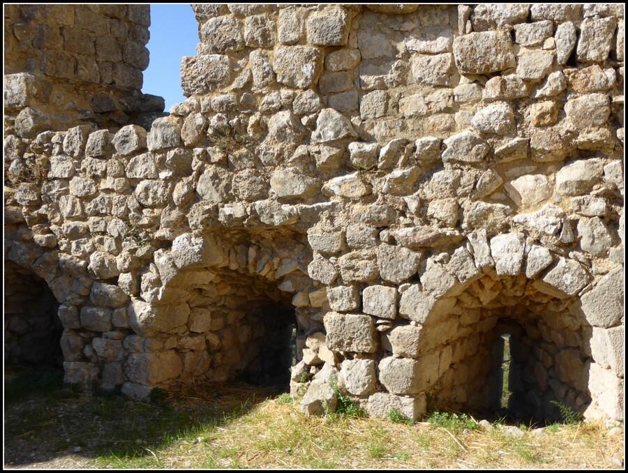 Les Châteaux Cathares : Aguilar 2