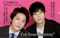 I'm your destiny