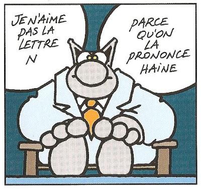Délicieuse et surprenante langue française...
