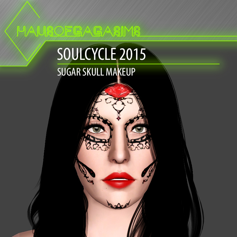 SOULCYCLE 2015 SUGAR SKULL MAKEUP