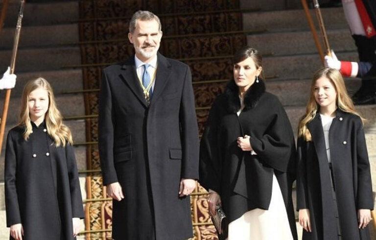 Ouverture du parlement des Cortes