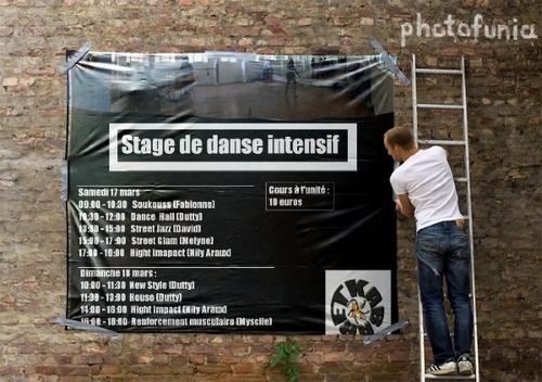 Stage de danse intensif :17 et 18 mars 2012