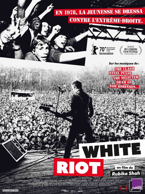 WHITE RIOT : la playlist du fondateur de Rock Against Racism !