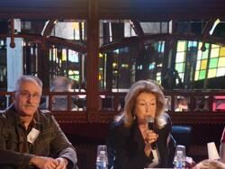 Geneviève Chauvel,Gérard Hubert-Richou aux Imaginales