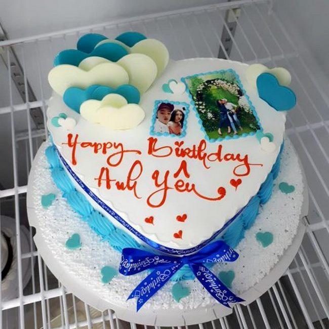 Bánh sinh nhật chồng yêu ngộ nghĩnh