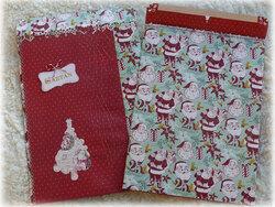 Pochettes cadeau de Noël