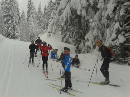 Ski lundi 2 février