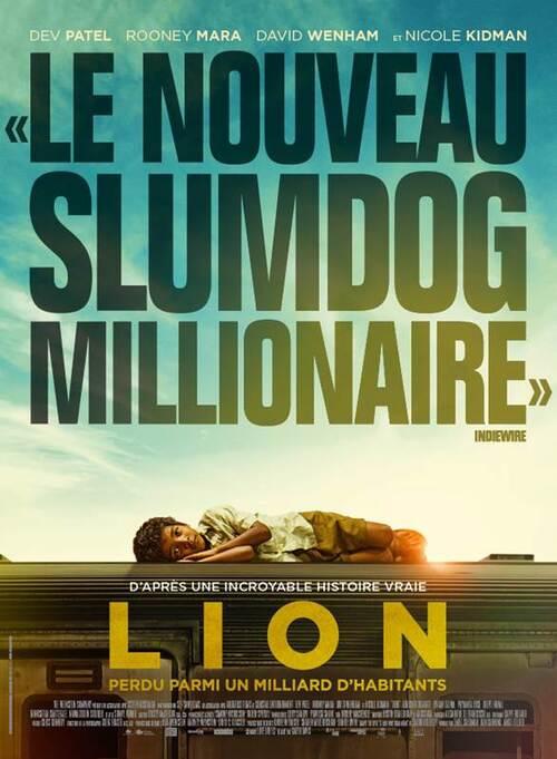 LION avec Dev Patel, Nicole Kidman et Rooney Mara - Découvrez les affiches du film ! Au cinéma le 22 Février 2017