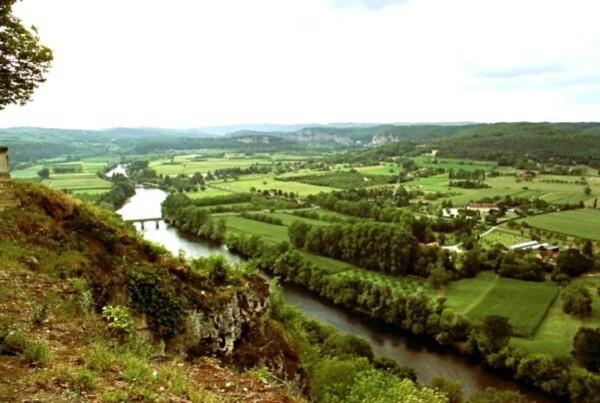 Domme, la Dordogne