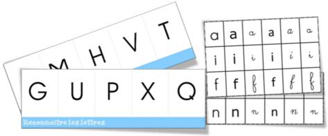 Boîtes à compter des lettres