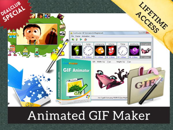 Coolmuster Animated GIF Maker For Windows With Lifetime Upgrades FREE For DealClub Members