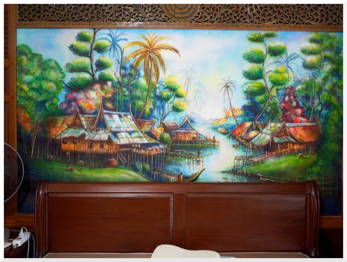 Photos de Thaïlande.  Une maison peu ordinaire 2/2