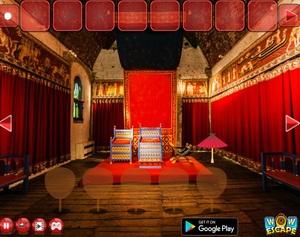 Jouer à Japanese throne room escape