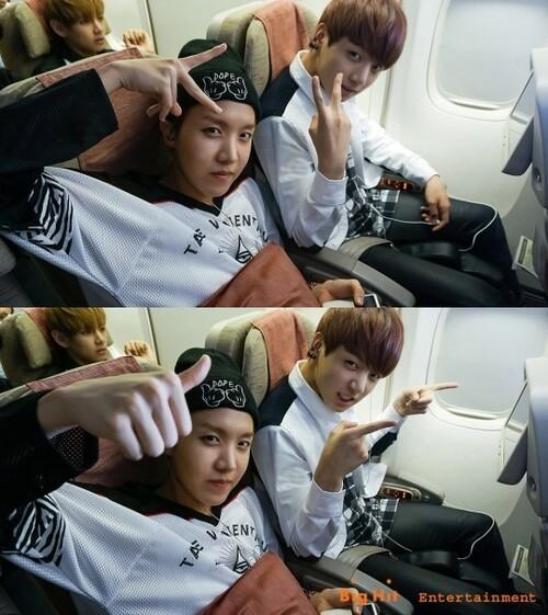 'BTS à L.A.', ce qu'il s'est passé dans l'avion