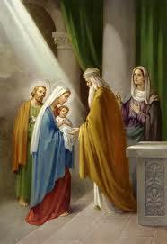 Présentation de Jésus au Temple, Rencontre du Seigneur Jésus avec le vieillard Syméon