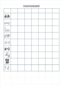 Livret de réussites GS : Ajout des tableaux de suivi des élèves