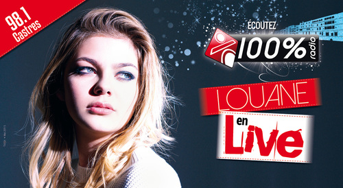 100% Radio - Showcase Louane