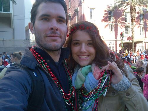New orleans Jingle Parade !