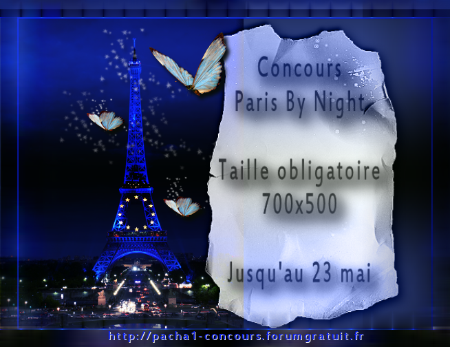 Concours Paris by night
