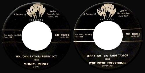 BANNY JOY & BIG JOHN TAYLOR
